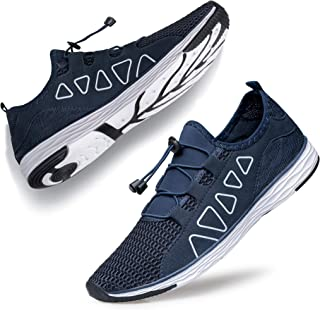 Men's Water Shoes - Sports Aqua Shoes Lightweight Outdoor Quick Drying