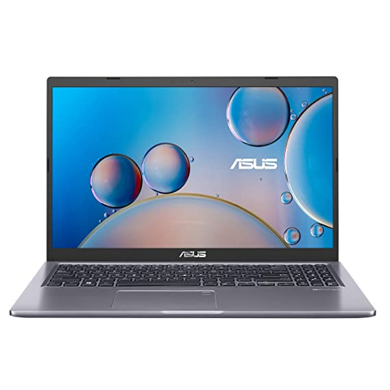 ASUS VivoBook 15 F515 Thin and Light Laptop, 15.6? FHD Display, Intel Core i3-1005G1 Processor, 4GB DDR4 RAM, 128GB PCIe SSD, Fingerprint Reader, Windows 10 Home in S Mode, Slate Grey, F515JA-AH31