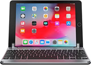 Brydge 9.7 Keyboard for iPad 9.7-inch for iPad 6th Gen (2018) | iPad 5th Gen (2017) | iPad Pro 9.7 inch | iPad Air 1 & Air 2 | Aluminum Bluetooth Wireless Keyboard (Space Gray)