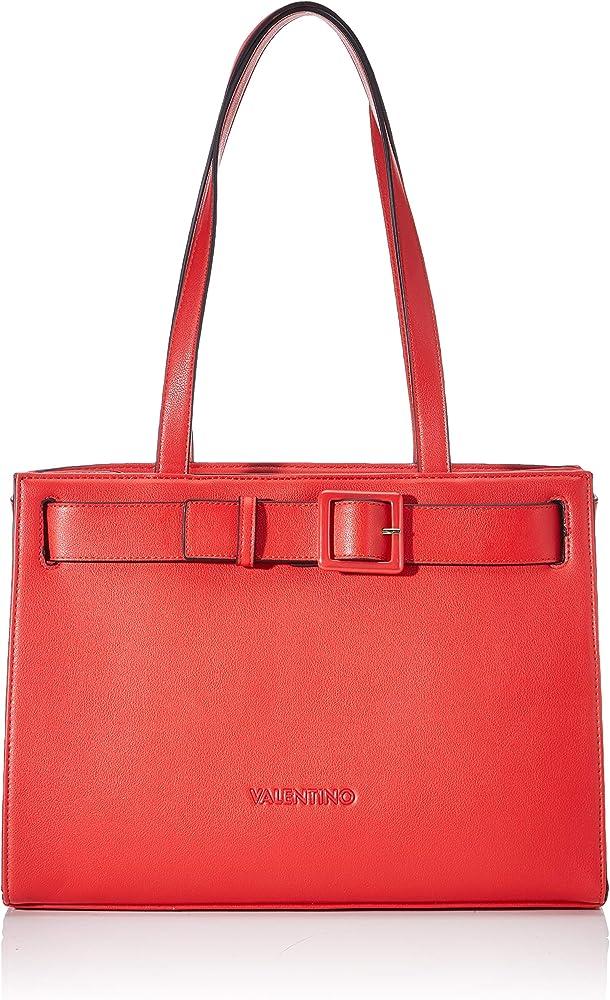 Mario valentino angelo, borsa a mano per donna, in ecopelle con fibbia decorativa VBS3XH01