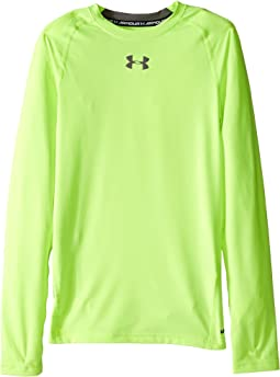 Under Armour Kids Heatgear® Armour® Fitted L/S Tee (Big Kids)