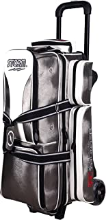 Storm 3 Ball Rolling Thunder Signature Series Bowling Bag Platinum