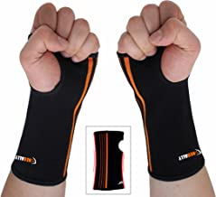 NEOALLY Wrist and Forearm Brace Compression Sleeve for Carpal Tunnel, Arthritis, Tendonitis, Bursitis and Wrist Sprain (Large 2-Pack)