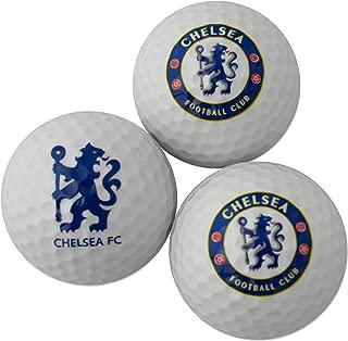 Chelsea Fc 3 Pack Golf Ball Gift Set