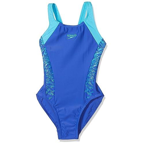 Color : 1, Size : 2-3T GROSSARTIG Girls One Piece Swimwear Printing Splashback Swimsuit Recreational