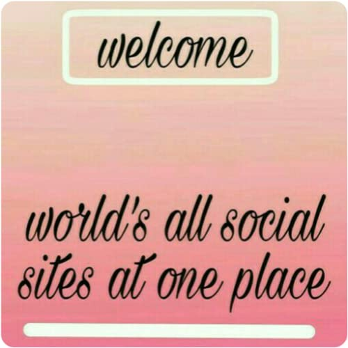 Social star -world's all social sites at one place