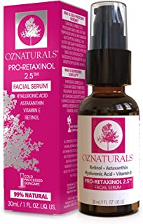 OZNaturals Pro-Retaxinol 2.5 Retinol Serum, 30ml