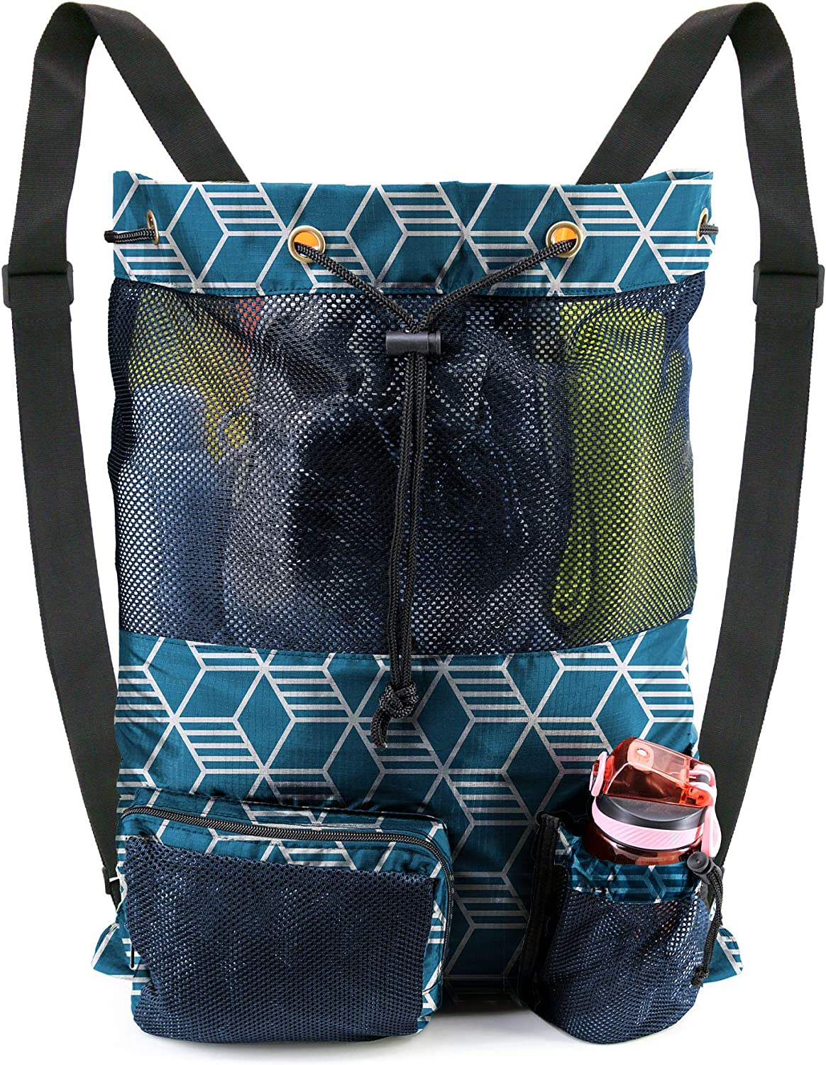 ! Super beauty product restock quality top! BeeGreen Storage Sales of SALE items from new works Swimming Pool Bag Backpack Mesh 1 String Piece