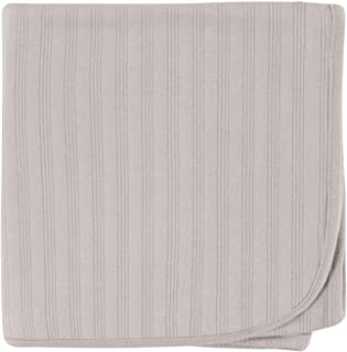 Touched by Nature Organic Cotton Receiving Blanket, Grey