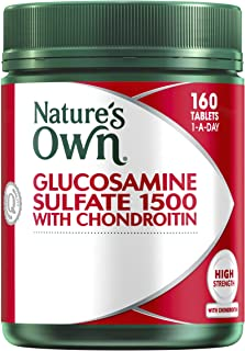 Nature's Own Glucosamine Sulfate 1500 with Chondroitin 160 Tablets