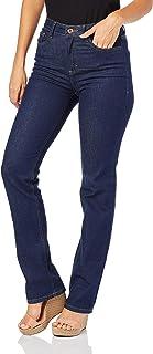 Calça Jeans reta flex jeans, Malwee, Femenino