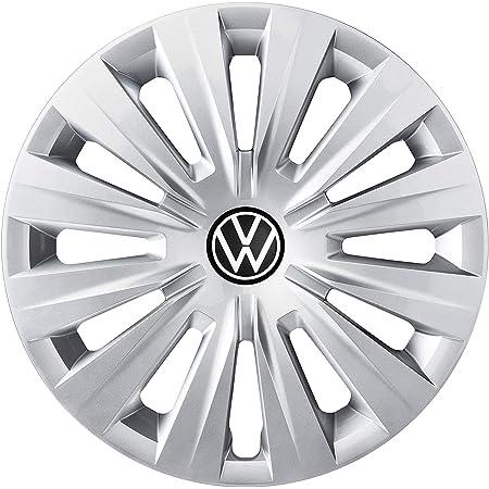 Volkswagen 5h0071455yti Radkappen 4 Stück Radzierblende Radvollblende 15 Zoll Stahlfelgen Silber Auto
