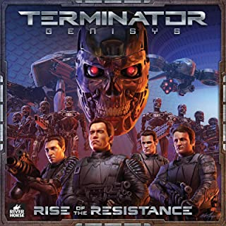 River Horse Terminator Genisys Rise of The Resistance Board Game (RH_TG_201)