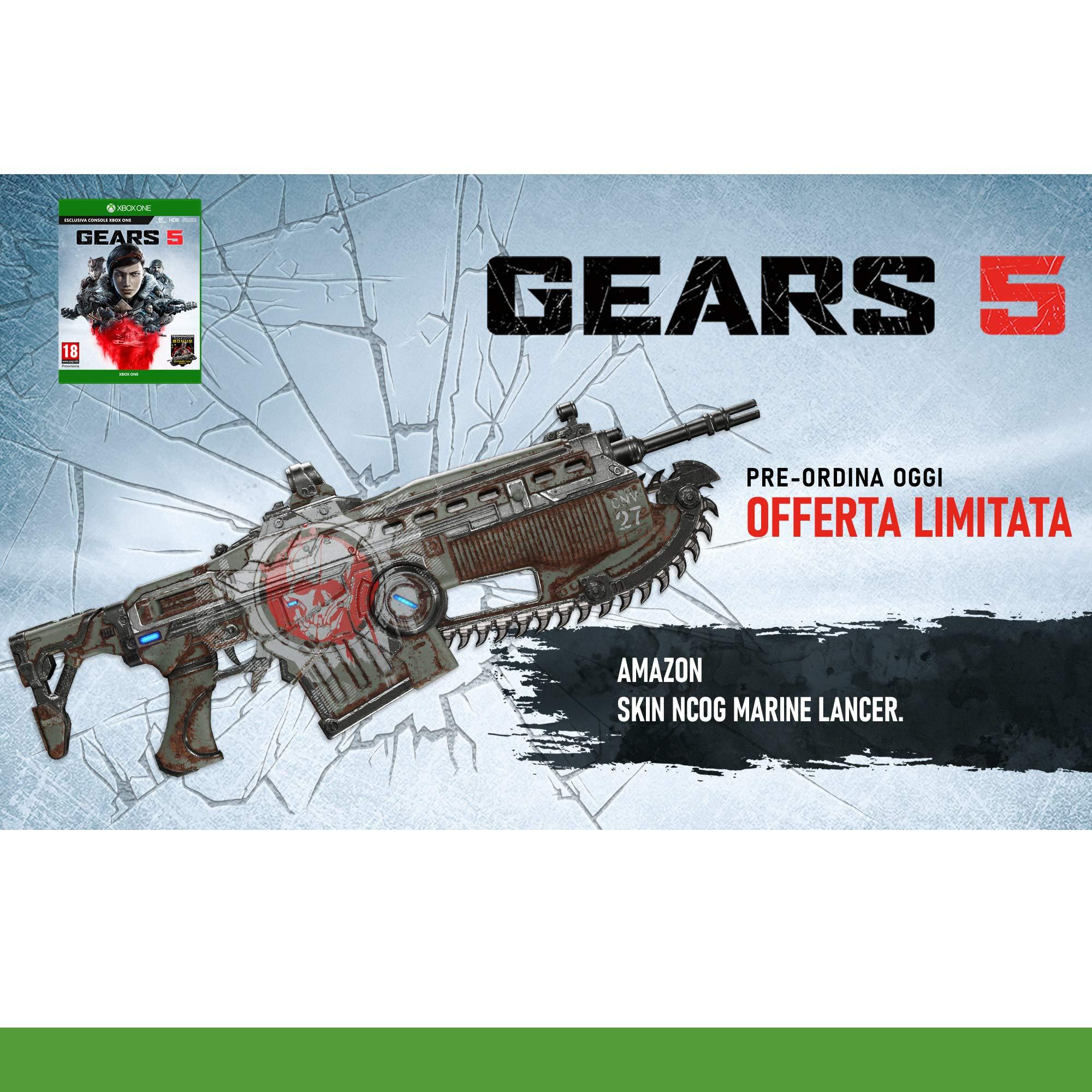 Xbox One - Gears Of War 5 - [PAL ITA - MULTILANGUAGE]: Amazon.es: Videojuegos