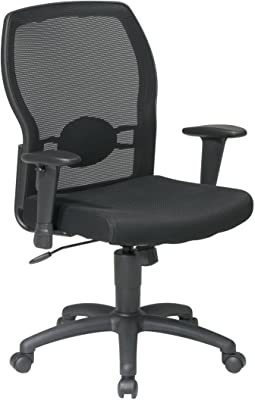 59532bafeb7 Amazon.com  Flash Furniture High Back Black Fabric Executive ...