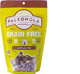 Paleonola – Grain Free GranolaApple PieFlavor – Non-GMO, Grain, Soy, Gluten, Dairy Free – Low Carb Protein SnackForA H...