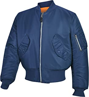 Valley Apparel Made in USA Men's US Air Force MA-1 Flight Jacket