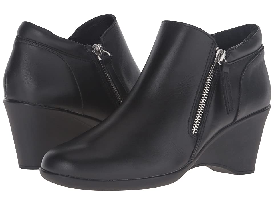 Steven Karrie (Black Leather) High Heels