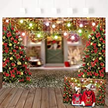 Mocsicka Christmas Theme Backdrop Christmas Tree Party Decoration Background 7X5ft Vinyl Christmas Party Children Family Party Studio Props
