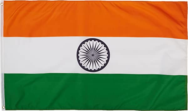 Quality Standard Flags India Polyester Flag 3 By 5