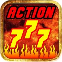 Action Stack Blazing Flaming 7s Casino Slot Machine Poker Machine Free Spin Progressive Jackpot - Vegas Slots