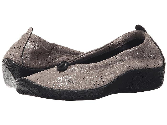 Arcopedico  L14 (Silver Sparkle) Womens Flat Shoes