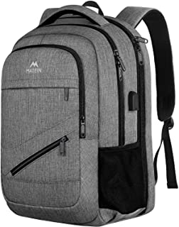 Travel Laptop Backpack,TSA Large Travel Backpack for Women Men, 17 Inch Business Flight Approved Carry On Backpack with US...