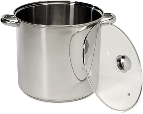 high quality Excelsteel 16 Quart Stainless Steel discount Stockpot With Encapsulated new arrival Base sale
