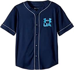 Under Armour Kids Homerun Baseball Jersey Short Sleeve (Little Kids/Big Kids)