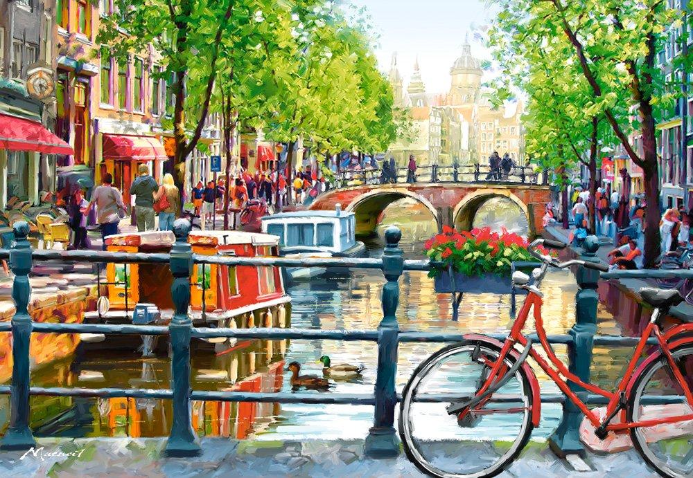 Castorland Amsterdam Landscape 1000 pcs Puzzle - Rompecabezas ...