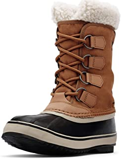 Sorel - Women's Winter Carnival Waterproof Boot for Winter, Camel Brown, 8 M US