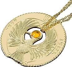 Indiana Jones Necklace, Raiders of The Lost Ark Necklace Staff of Ra Headpiece Necklace Indiana Jones Prop Accessories