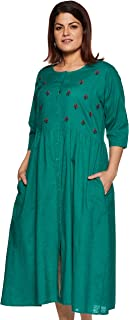 MyBlush Cotton a-line Dress