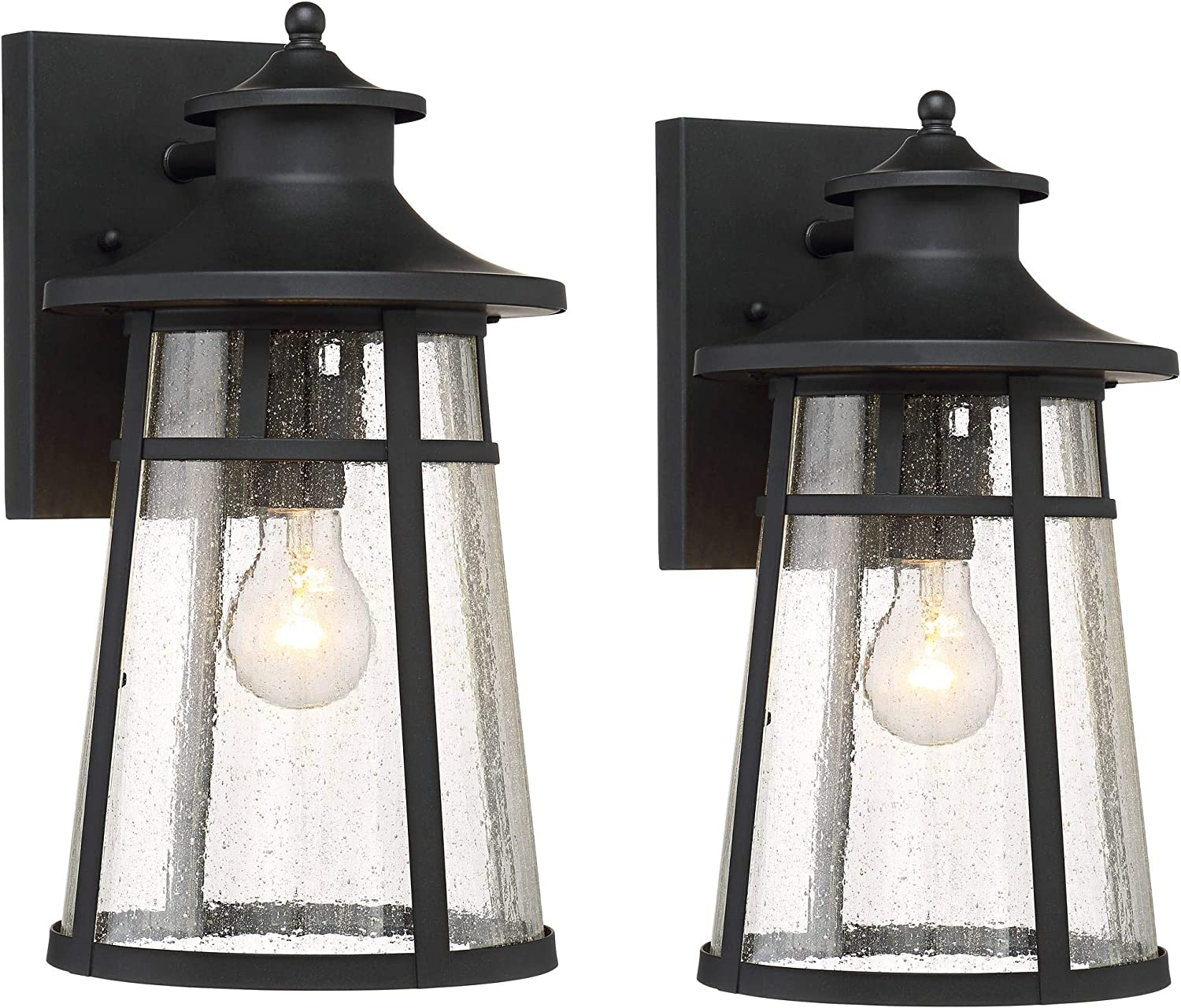 Clement Los Angeles Mall Mission Outdoor Wall Light Fixtures Max 48% OFF 2 Iron B of Cast Set