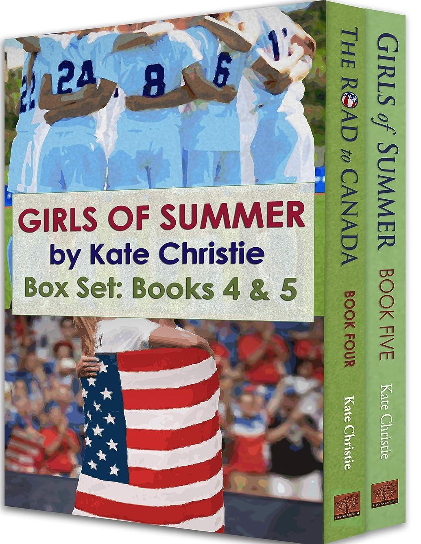部屋を掃除する前者支給Girls of Summer Box Set: Books 4 & 5 (English Edition)