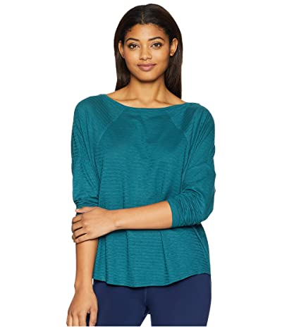 Prana Seaboard Long Sleeve Top (Deep Balsam) Women