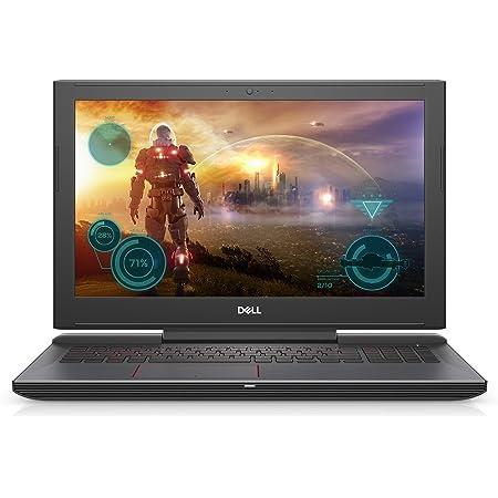 "Dell G5587-7866BLK-PUS G5 15 5587 Gaming Laptop 15.6"" LED Display, 8th Gen Intel i7 Processor, 16GB Memory, 128GB SSD+1TB HDD, NVIDIA GeForce GTX 1050Ti, Licorice Black"