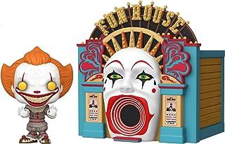 Funko Pop! Town: It 2 - Demoníaco Pennywise con Funhouse, multicolor