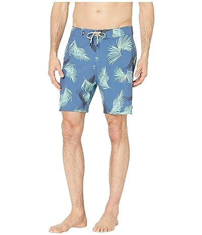 Globe Fossil Boardshorts (Argon Blue) Men