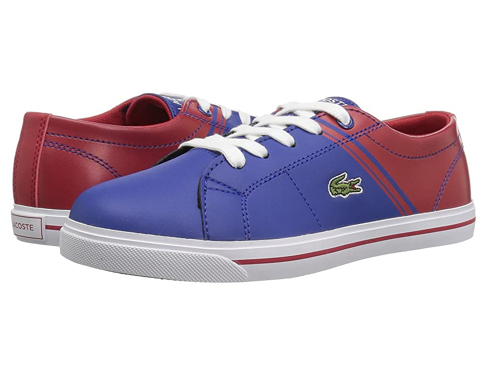 Lacoste Kids Riberac (Little Kid) (Dark Blue/Red) Kid