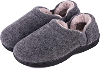 Men's Cozy Memory Foam Slippers Comfy House Shoes