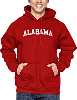 HAASE UNLIMITED Alabama - State School University Sports Unisex Hoodie Sweatshirt