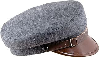 Wool Cloth Peaked Breton Style Maciejowka Cap