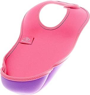 Bibetta ビベッタ 防水くるくるエプロン ウルトラビブ M ミディアム Pink ピンク