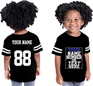 Custom Cotton Jerseys for Toddlers and Kids - Make Your OWN Casual Outfit