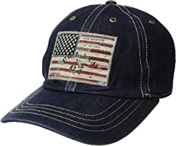 Polo Ralph Lauren Denim Iconic Flag Cap