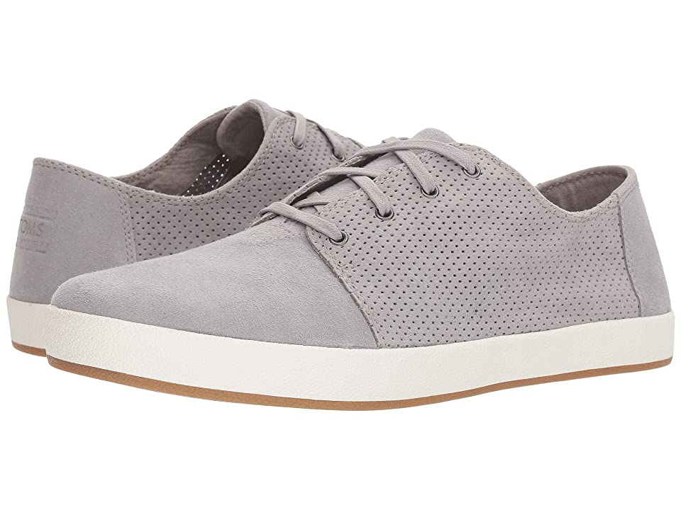 TOMS Payton (Drizzle Grey Perforated Synthetic Suede) Men