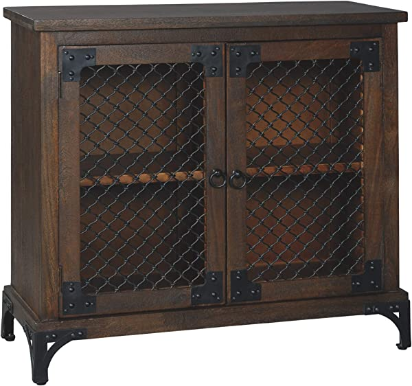 Ashley Furniture Signature Design Havendale Accent Cabinet Brown