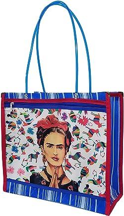 FRIDA KAHLO *PLEGARIA*. Bolsa de Mujer en Malla Multiusos, 43 x 36
