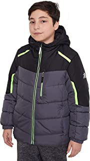ZeroXposur Boys Puffer Jacket, Lightweight Quilted Boys Jacket